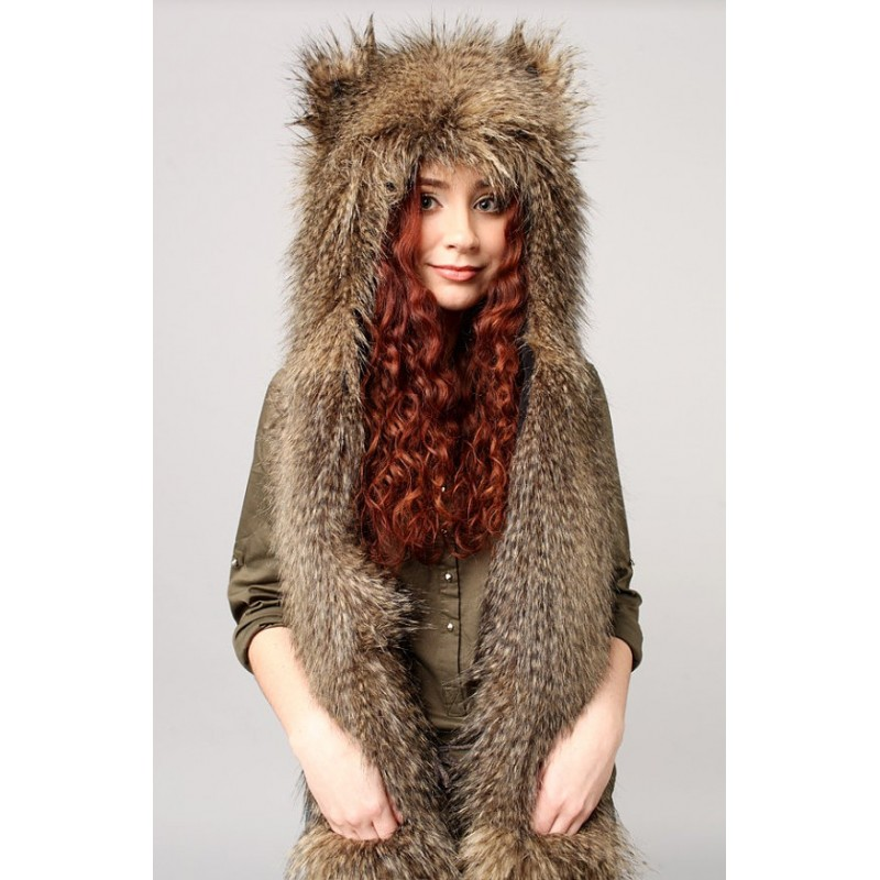 Whether you opt for a single pom-pom at the top of your hat or multiple pom-pom accents, you'll love this timelessly trendy embellishment on a faux fur hat. Women's faux fur hats are also available with animal ears that will give your winter wardrobe extra flair.