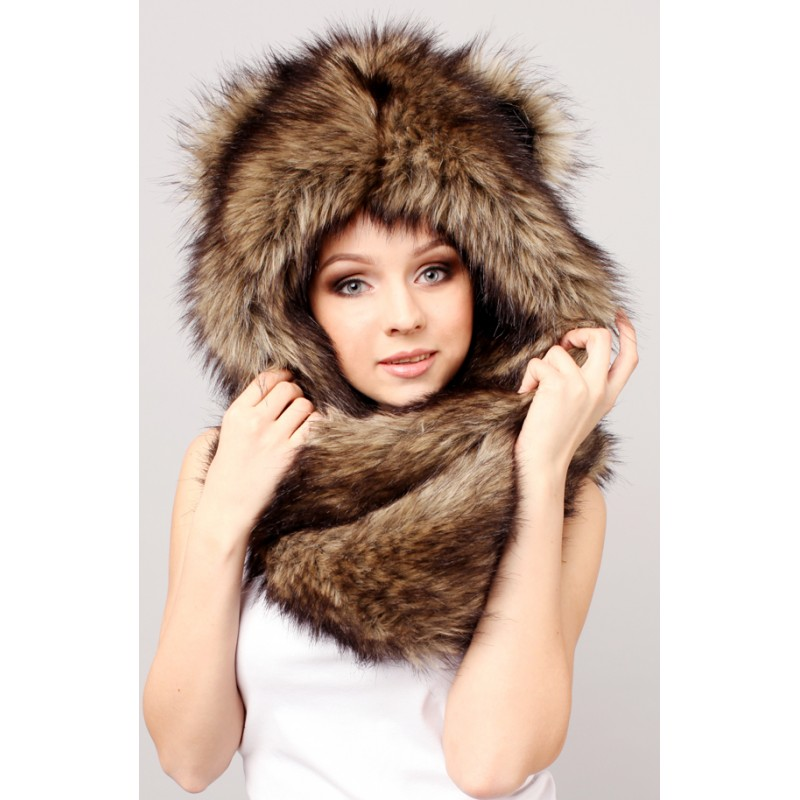 5c576893b08 Winter Hats - buy it now and get a warmth of animals  fox
