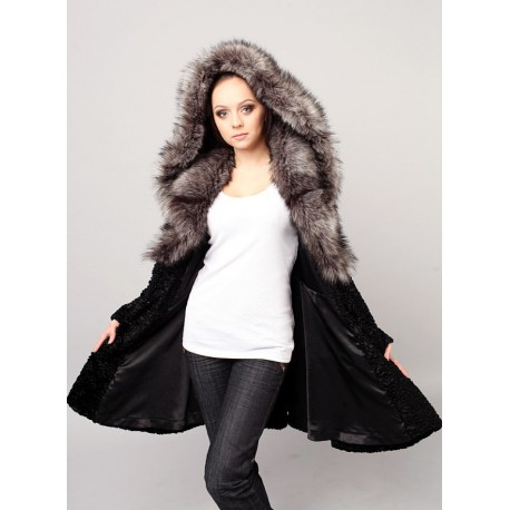"The ""Classic"" faux fur coat"